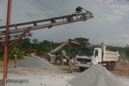 Our Complete Crushing Plant in Cameroon