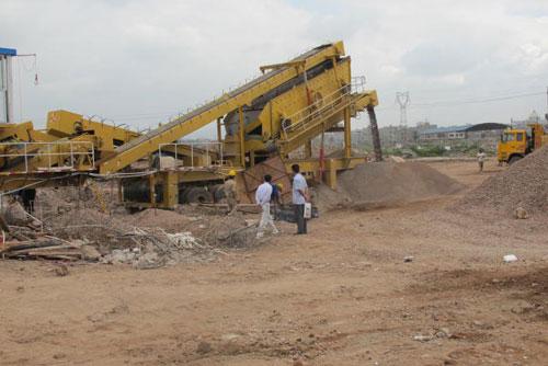 mobile crushing plant manufacturer