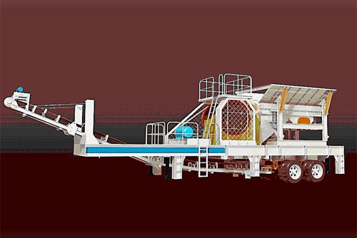 jaw crushing plant